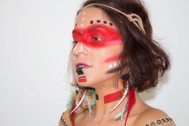Maquillage Natif Americain - Art&Freak Show
