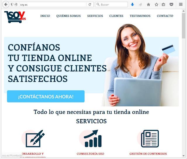Soy.es, Sitios Para Crear un Blog Gratuito