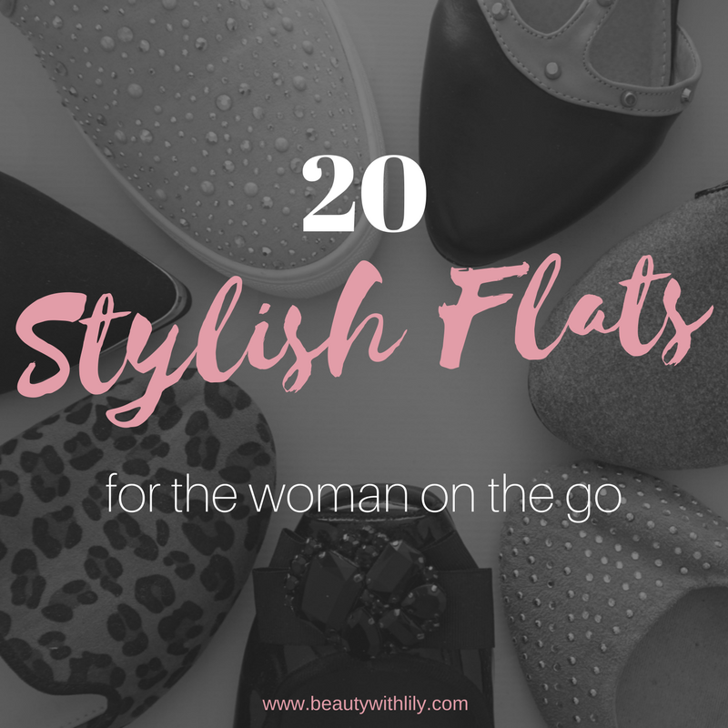 20 Stylish & Comfortable Shoes // Trendy Flats | beautywithlily.com