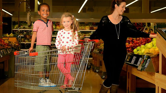 shopping dengan anak-anak