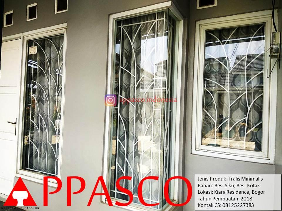 Teralis Minimalis Modern di Kiara Residence Bogor