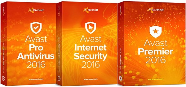 avast! Pro Antivirus/Internet Security/Premier 2016 12.1.3076.0