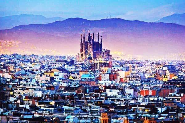 sejarah kota barcelona