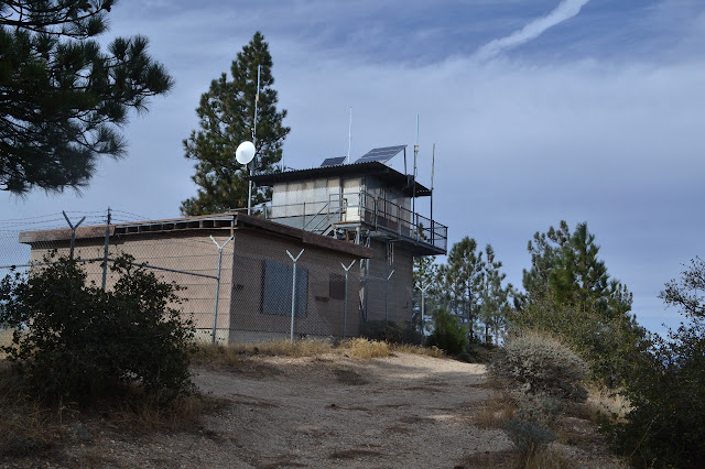 lookout and radio building of Figueroa Mountain