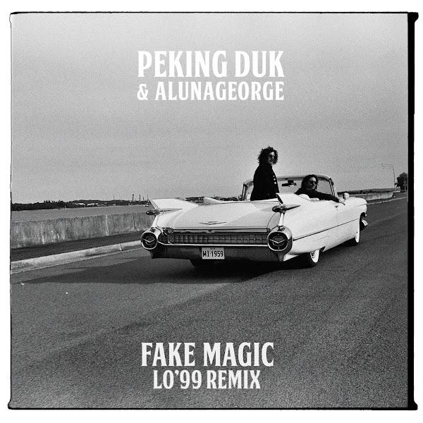 Peking Duk & AlunaGeorge - Fake Magic (LO´99 Remix) - Single Cover