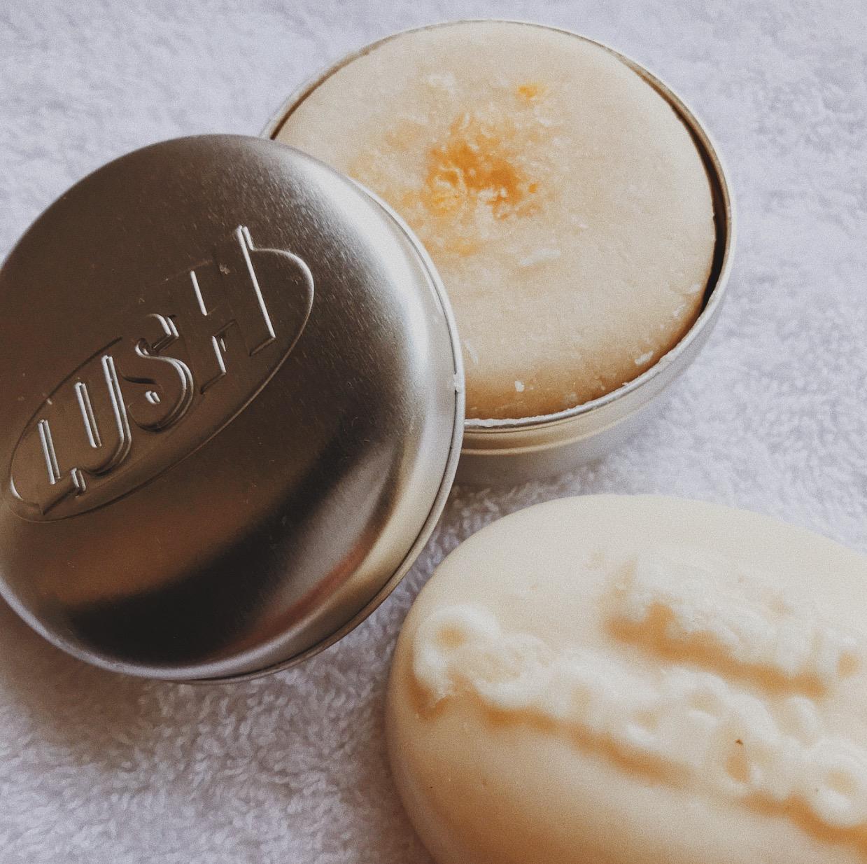 Lush Shampoo and Conditioner bar