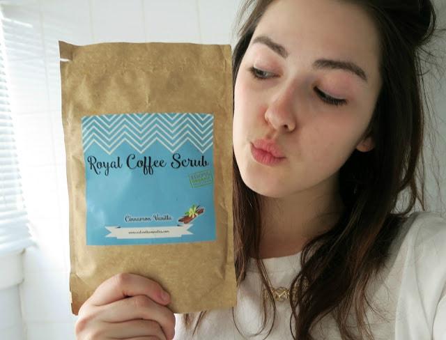 Coffee Scrub Packaging