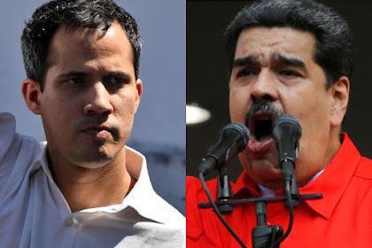 """Venezuela Punya Presiden """"Kembar"""", Akankah Perang Pecah di Sini?"""