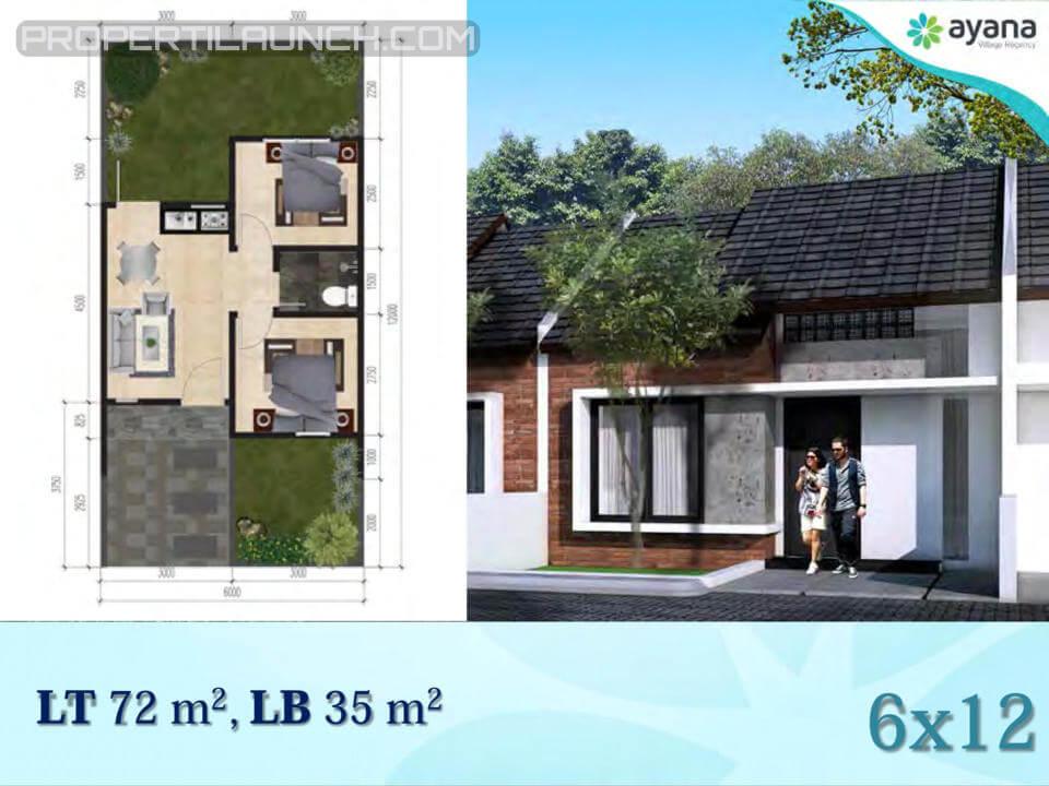 Tipe 35 Rumah Ayana Village Regency Tigaraksa