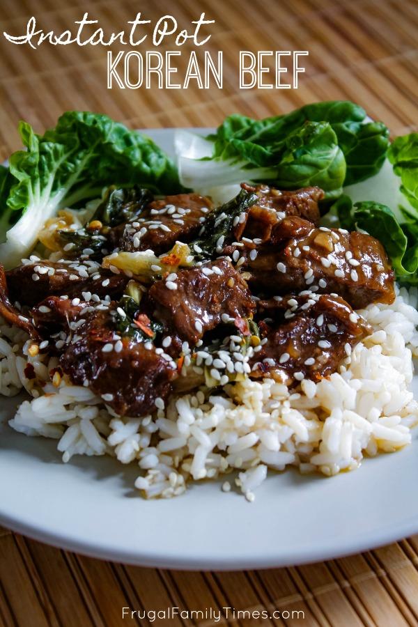 instant pot dump recipes korean beef
