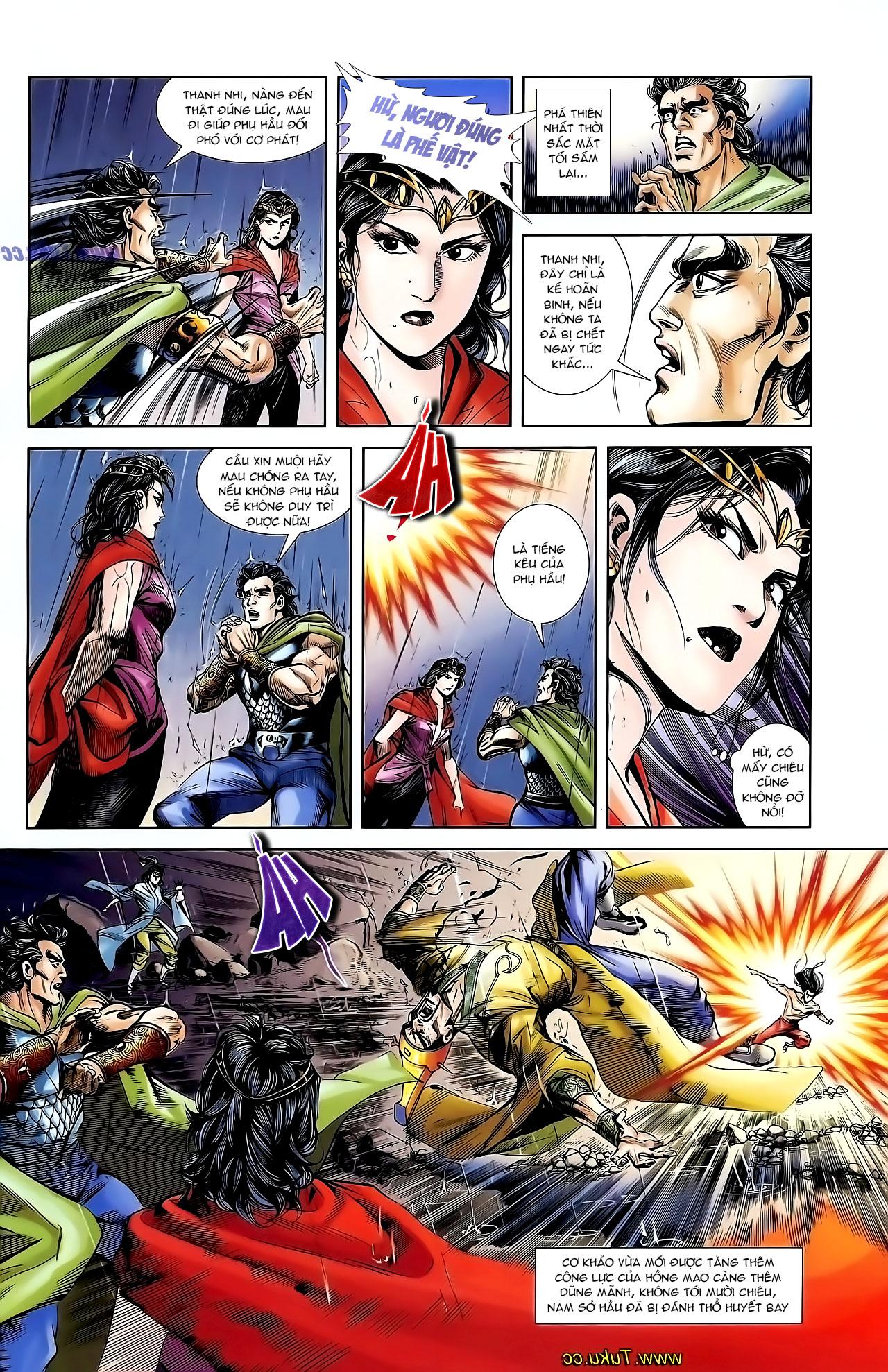Cơ Phát Khai Chu Bản chapter 130 trang 15