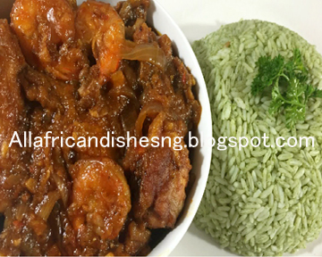 All african dishes liberian chuck rice and gravy on top of the meat and fry add the fried chicken beef or fish to the mixture and allow to cook on a low heat for 14minutes and it is ready after forumfinder Image collections