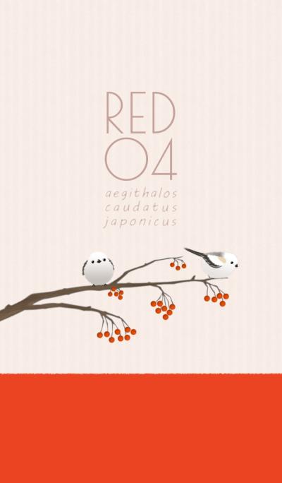 Aegithalos caudatus japonicus/Red 04