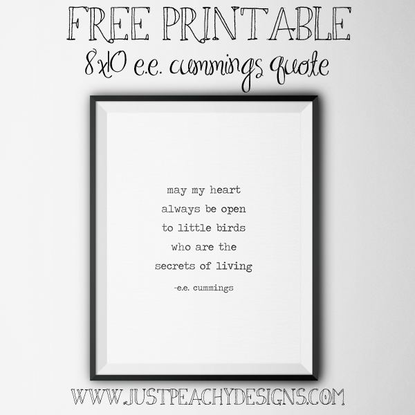 free inspirational quote printable