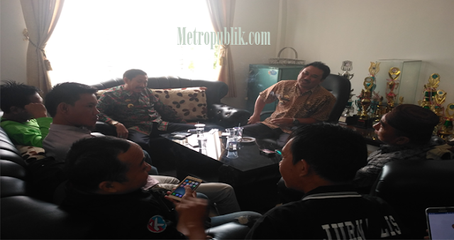 Aksi Koboy Kadis Kominfo Lamtim Kepada Media Akhirnya Minta Ma'af