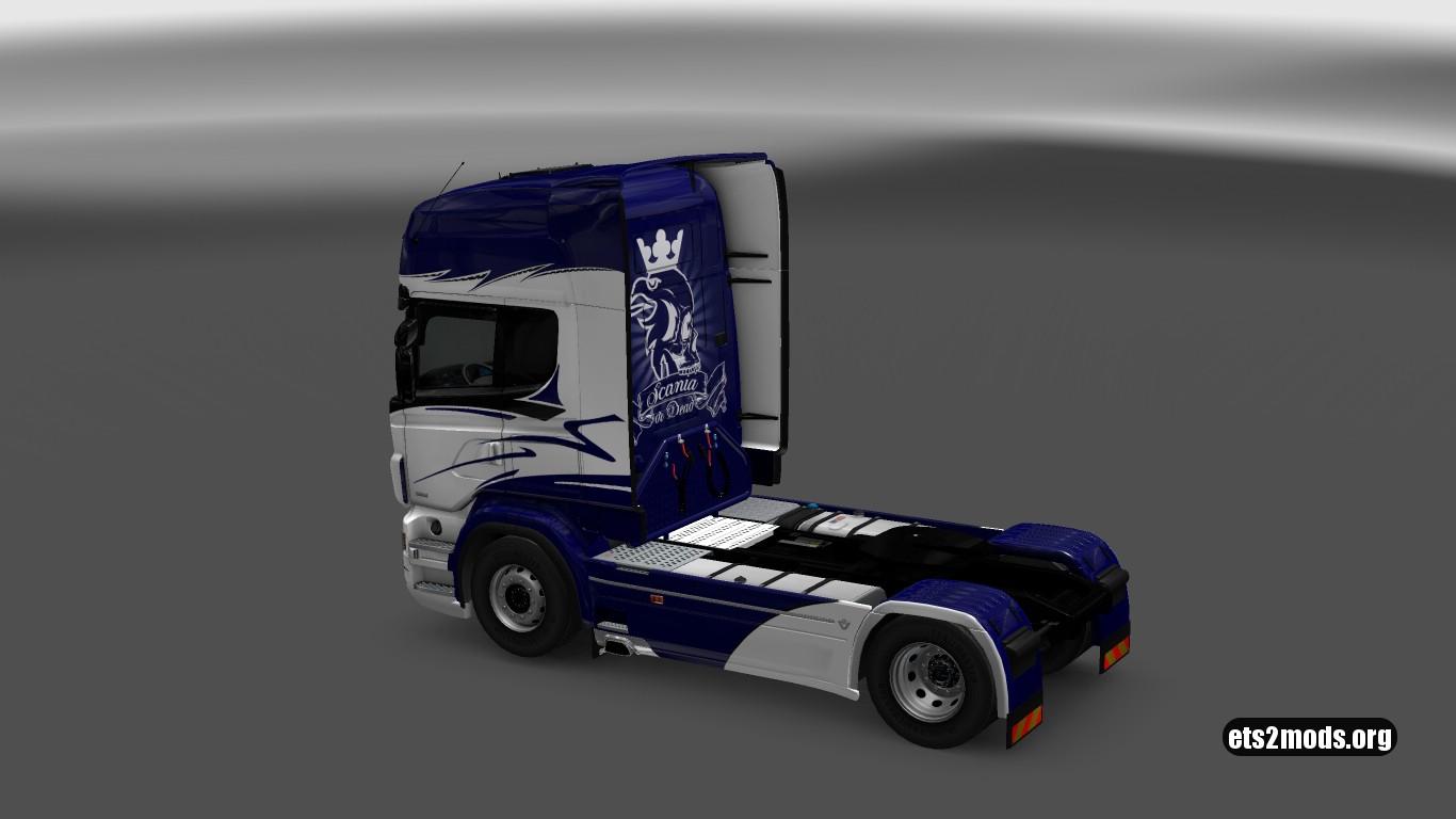 Blue Hornet Skin for Scania RJL