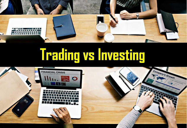 Perbedaan Trading Saham dan Investasi Saham