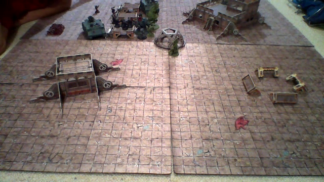 Warhammer 40k battle report - The Relic - 1000 points - Death Guard vs Crimson Fists
