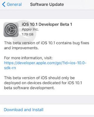 تحميل ios 10 لل iPhone و iPad و iPod