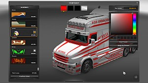 Scania T Swede paintjob