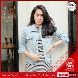 RRC210J51 Jaket Jeans Clasik Wanita Terbaru BMGShop