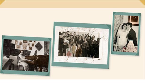 תמונות מאלבומי משפחות סלומון, גלינינסקי־גונן ומשפחת פרלשטיין