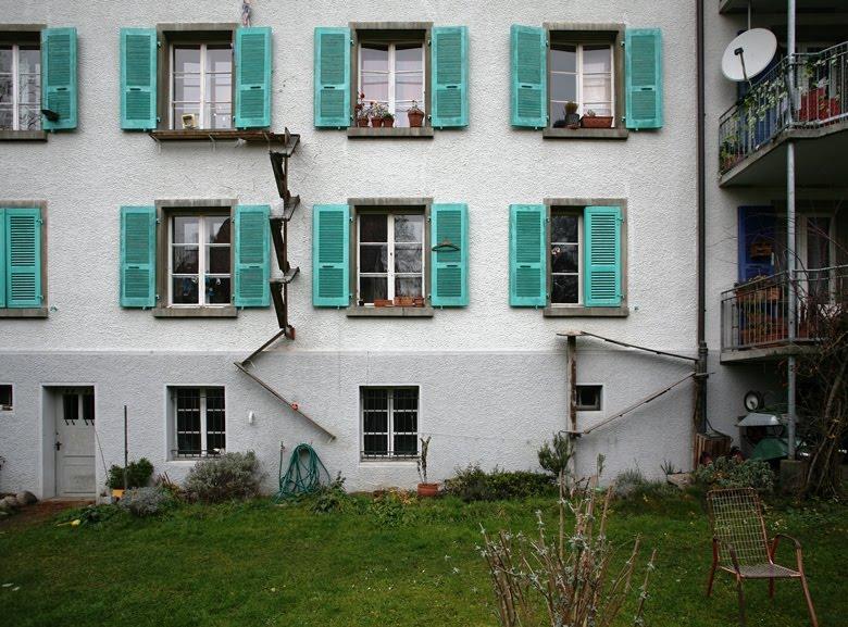 Échelles pour chats d'appartement : la créativité suisse !
