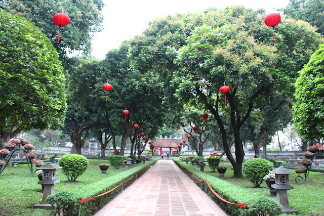 Temple of Literature in Hanoi, Vietnam - lifestyle & travel blog