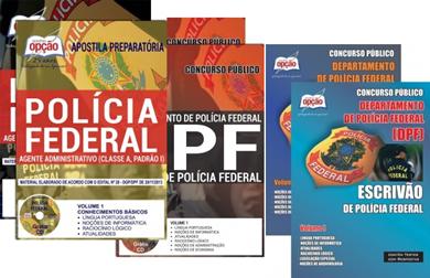 Apostila Polícia Federal concurso PF 2018