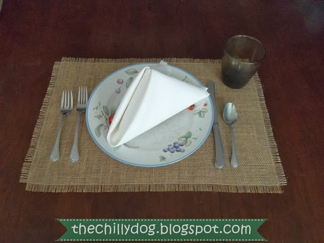 How to fold a Pyramid Napkin | The Chilly Dog
