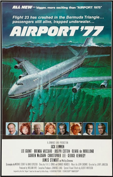 Poster of Airport 77 (1977) English 720p BRRip Full Movie Download