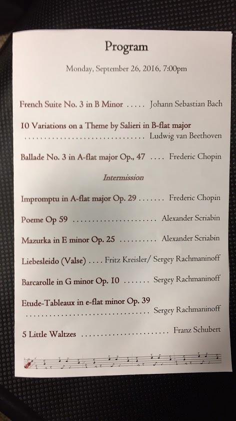 Joe U0026 39 S Concert Reviews  Marina Young Piano Recital