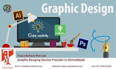 Graphic Designing Service - Traj InfoTech