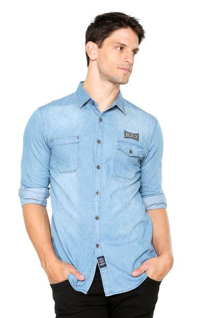 dafitistatic a.akamaihd.net%25252fp%25252fbroken rules camisa jeans broken rules patch azul 9610 2139553 1 zoom - TOP 10: Sugestões de PRESENTES professional DIA DOS PAIS até R$200