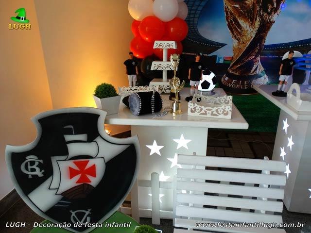Mesa decorativa Futebol - Decoração de aniversário