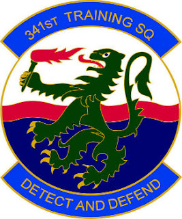 The 341st Training Squadron is based out of Lackland AFB in Texas.