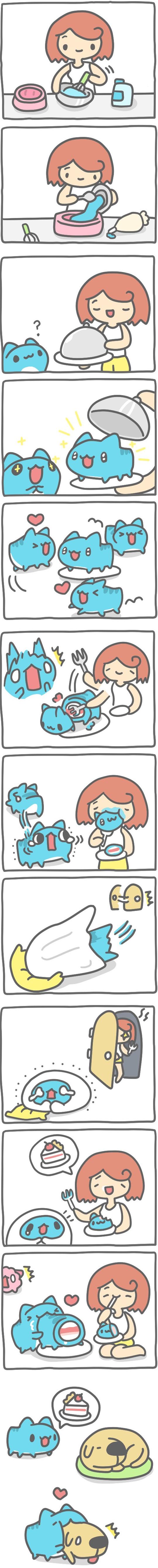 Truyện Mìn Lèo #367: Làm bánh kem