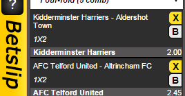 Meaning of four fold in betting what does minus labour betting shops in leatherhead