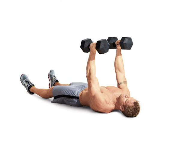 Best Chest Exercises of All Time - 30 Exercise - Floor Press