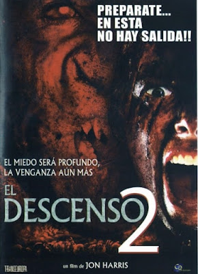 The Descent 2 2009 DVD R1 NTSC Latino