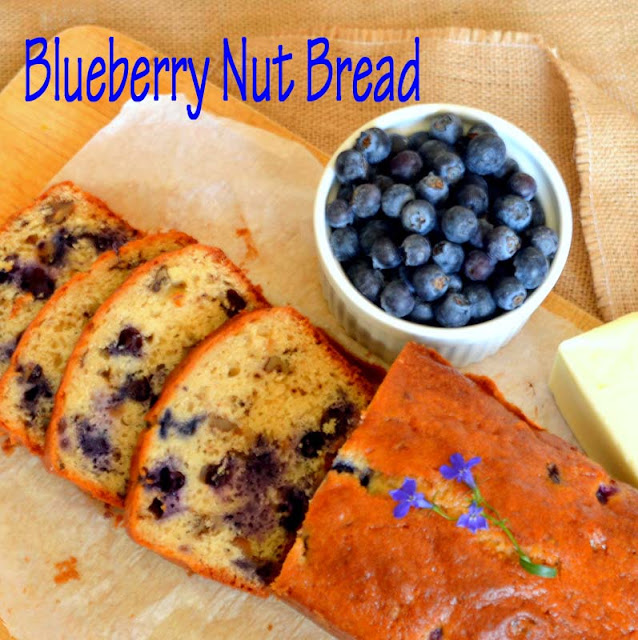 This Blueberry Nut Bread, made with maple syrup is quick to make and delicious to eat. This makes any meal special! #blueberries #quick bread #maple www.thisishowicook.com