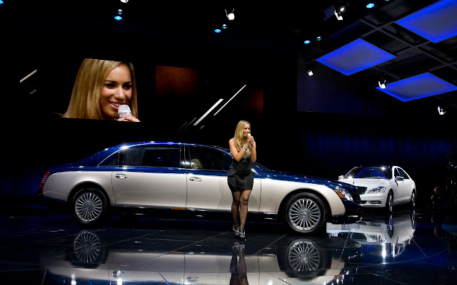 Maybach Edition 125 - Leona Lewis