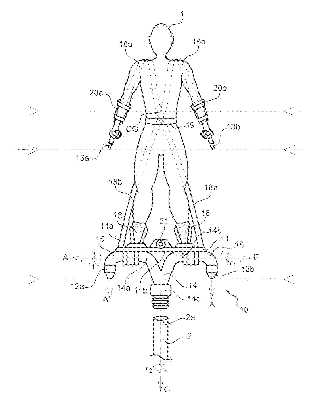 The Patent Search Blog Frankie Zapata S Hoverboard By Zr