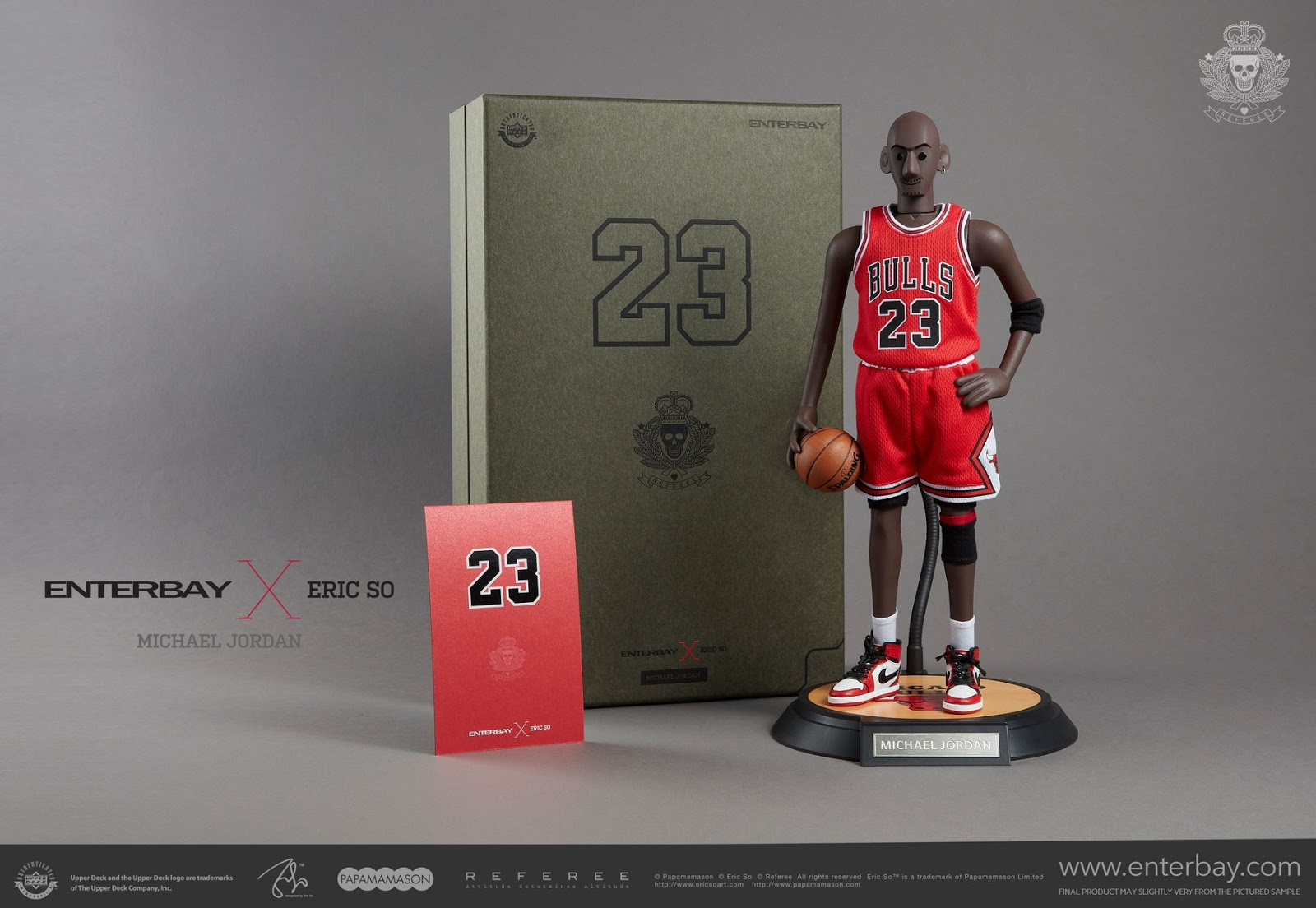 Super Punch  Michael Jordan by Enterbay x Eric So 20a854ae3