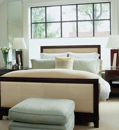 """Linda Beam - """"An Affection for Staging"""": Beds in front of ..."""