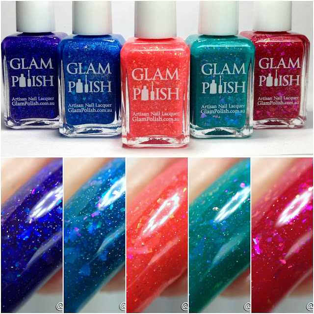 Glam Polish-Mermaid At Heart Collection