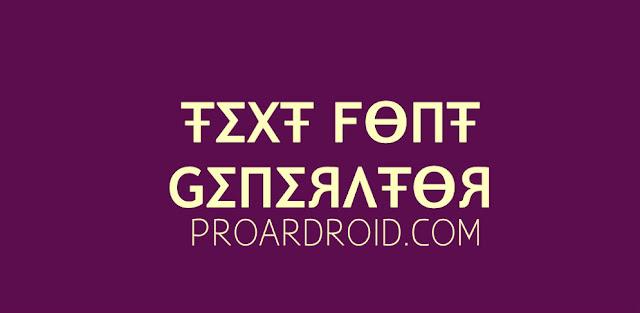 تطبيق Text Font Generator, Encode Messages Pro لزخرفة النصوص بشكل رائع للاندرويد logo