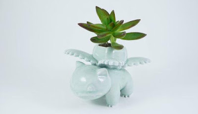 Ivysaur Ceramic Planter
