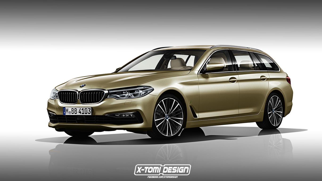 X-Tomi Design: BMW 5-Series Touring