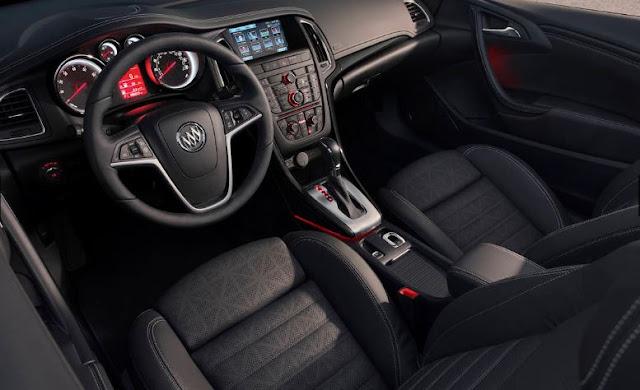 2016  interior Buick Cascada Spesifications and price